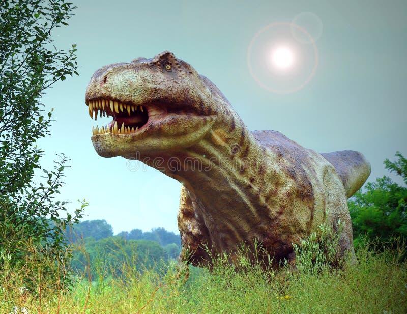 Rex de Tyranosaurus foto de archivo