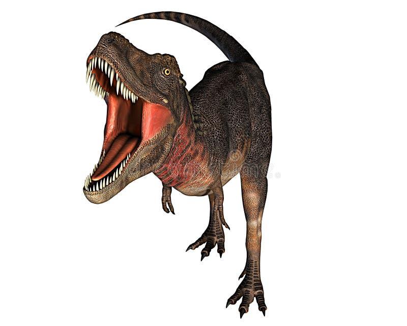Rex del dinosaurio de Dino stock de ilustración