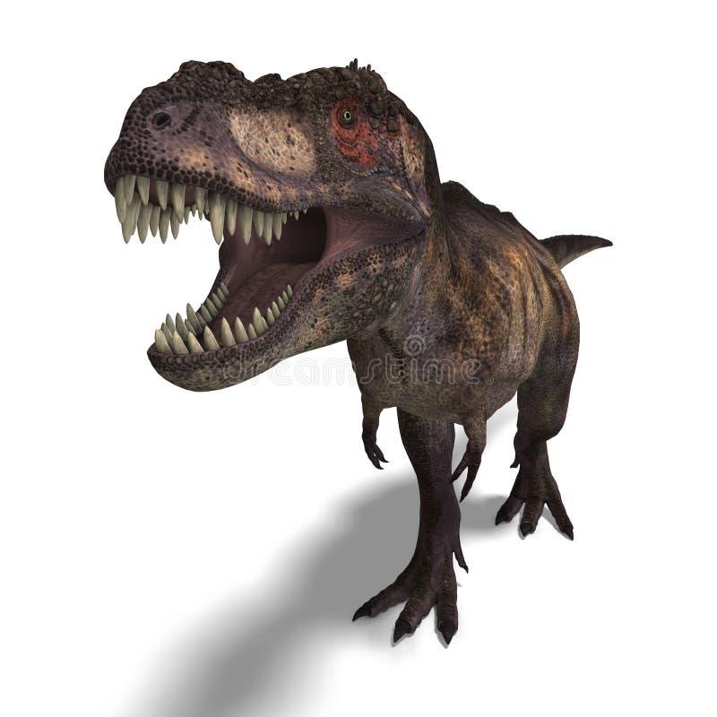 Rex del Tyrannosaurus stock de ilustración