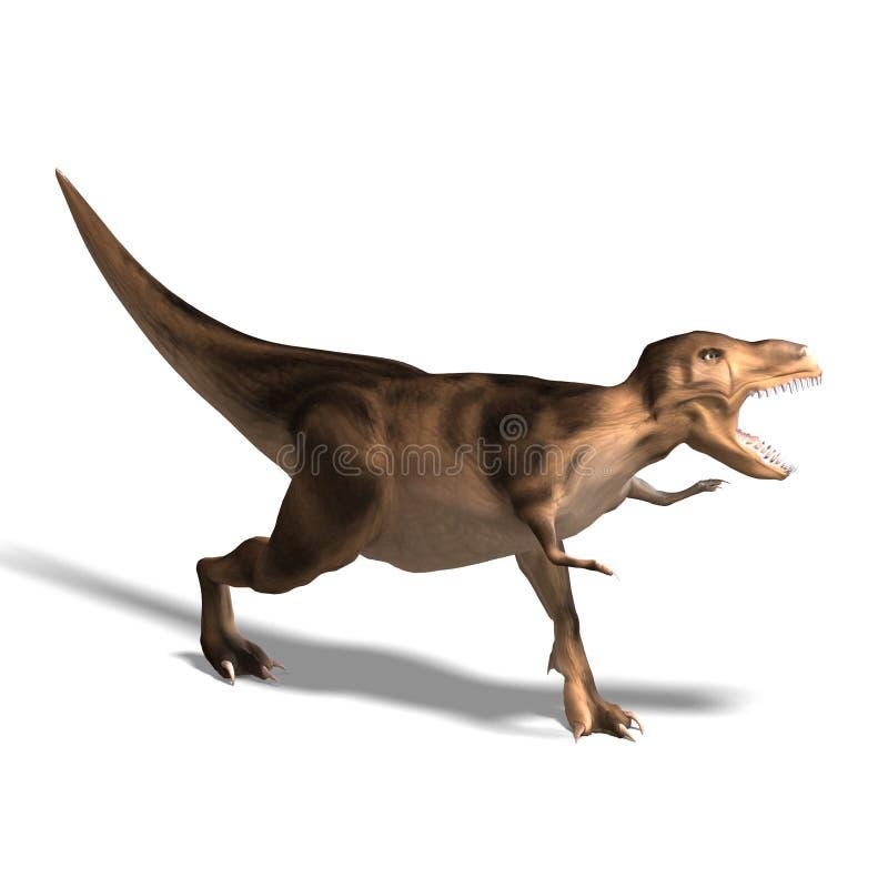 Rex do Tyrannosaurus ilustração royalty free