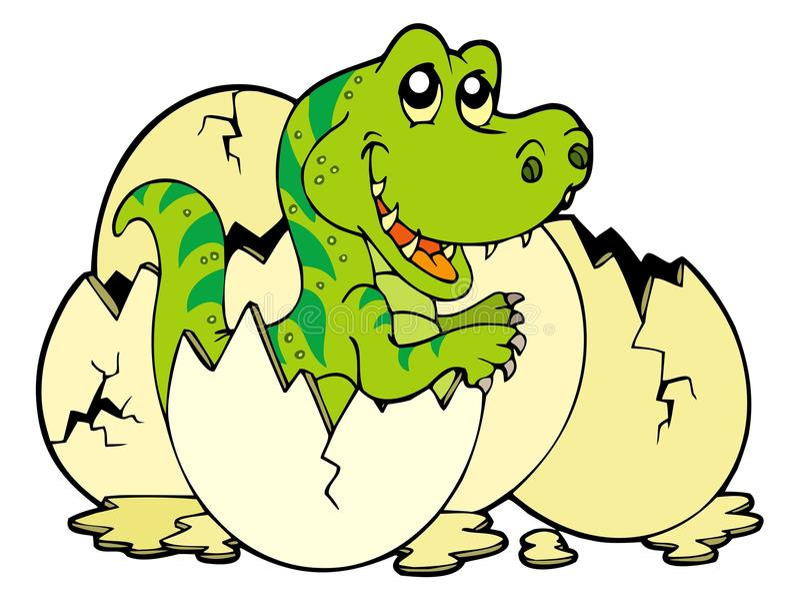 Rex novo do tyrannosaurus ilustração stock