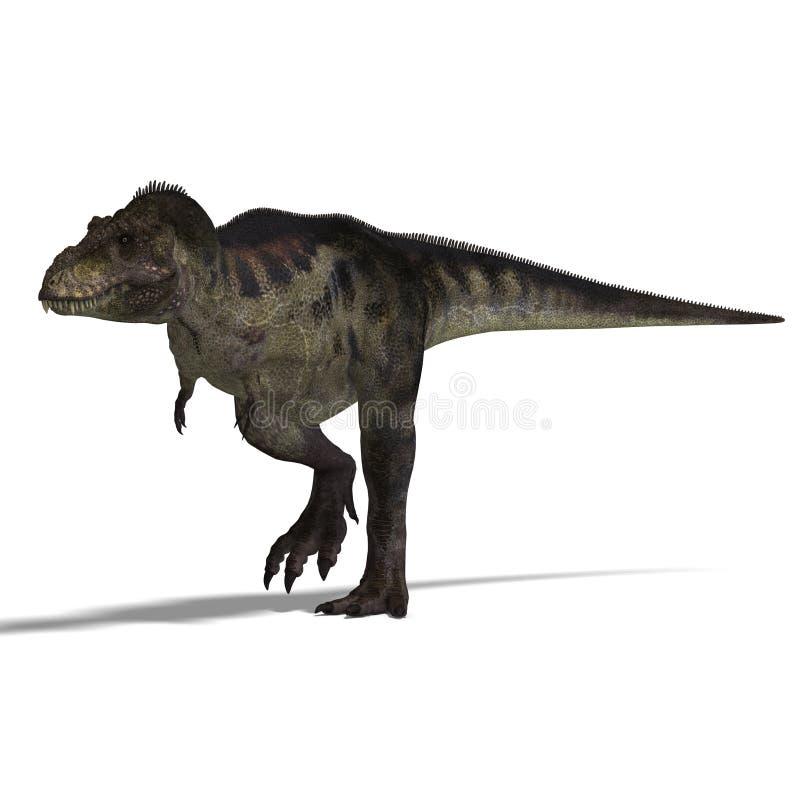 rex tyrannosaurus ilustracja wektor
