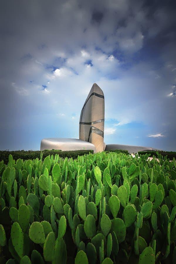 Rey Abdulaziz Center para la ciudad de Ithra de la cultura del mundo: Dammam, país: La Arabia Saudita imagenes de archivo