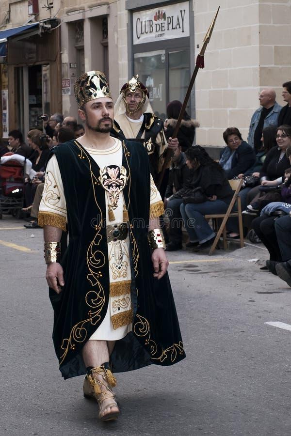 Rey bíblico imagenes de archivo