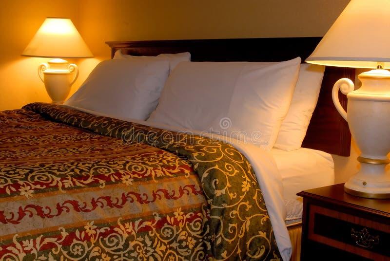 Rey Bed imagen de archivo