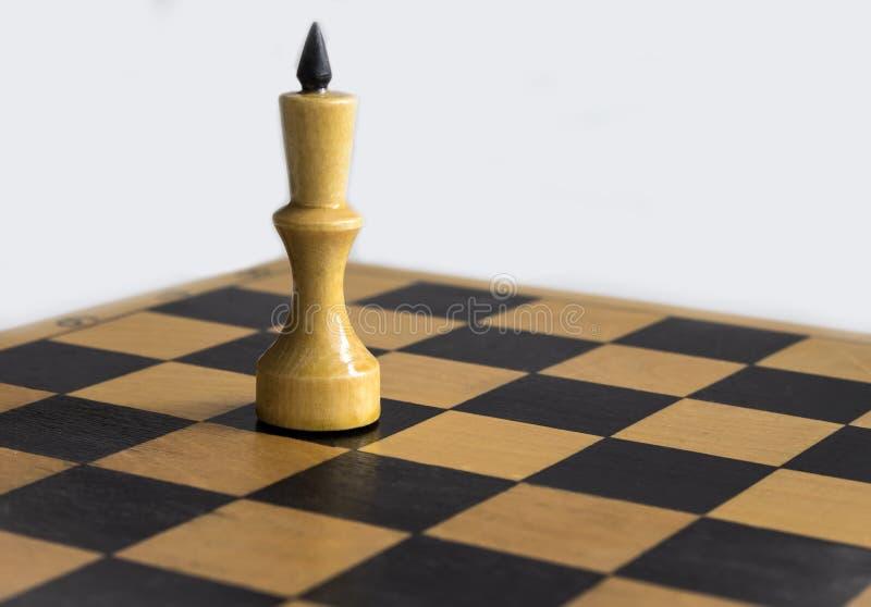 Rey blanco del ajedrez fotos de archivo libres de regalías