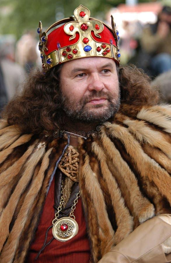 Rey Charles IV de Bohemia fotografía de archivo