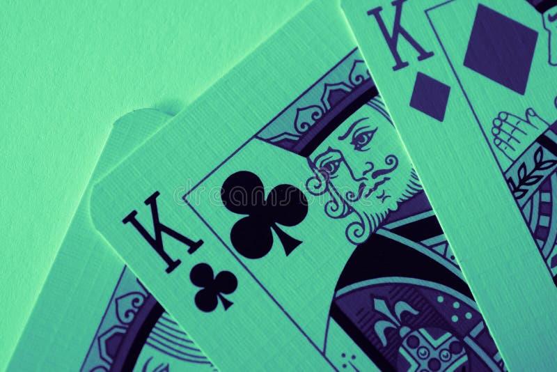 Rey de la macro de los corazones, tarjetas de la adivinación Ritual místico de la tarjeta, fotos de archivo libres de regalías
