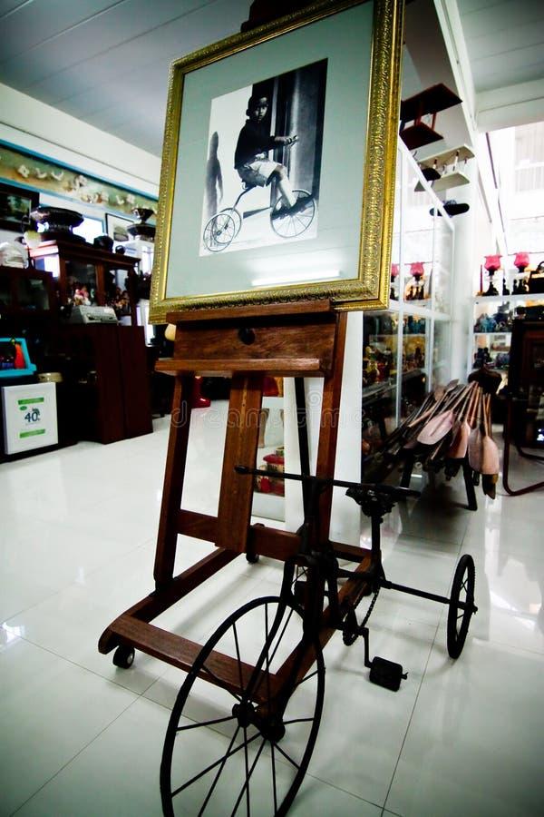 Rey de Tailandia en el triciclo fotografía de archivo libre de regalías