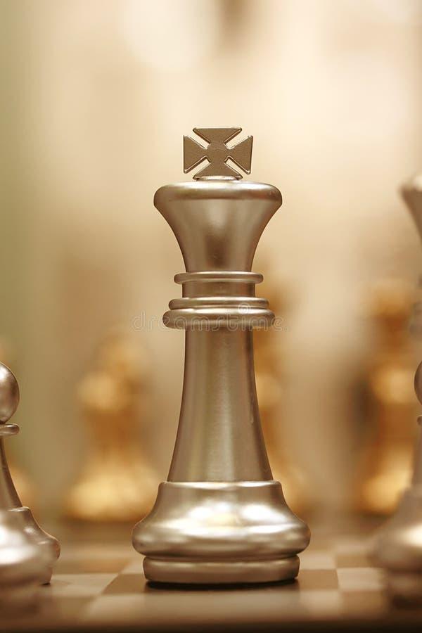 Rey del ajedrez fotografía de archivo libre de regalías