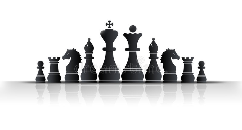 Rey del ajedrez libre illustration