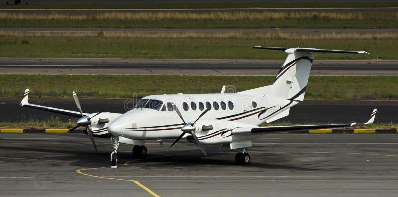 Rey estupendo Air 350 [B300] de Beechcraft del vendedor ambulante foto de archivo
