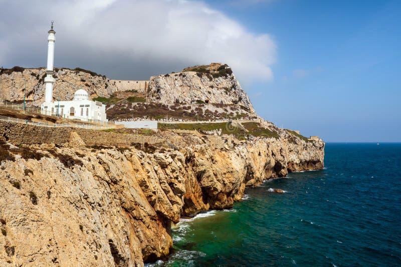 Rey Fahad Bin Abdulaziz Al Saud Mosque, Gibraltar fotografía de archivo