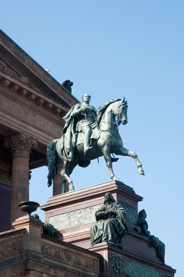 Rey Frederick Guillermo IV fotografía de archivo libre de regalías