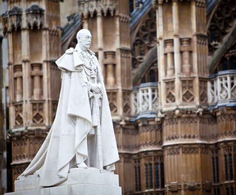 Rey George V imagenes de archivo