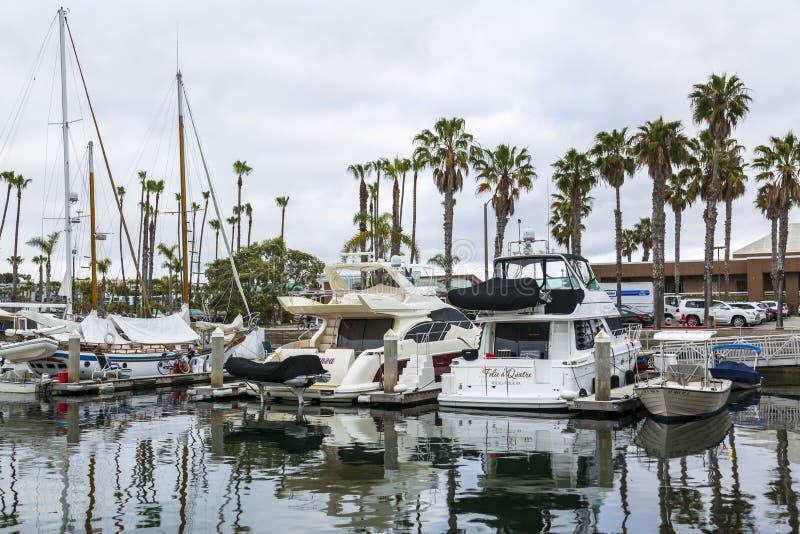Rey Harbor, Redondo Beach, California, los Estados Unidos de América, Norteamérica foto de archivo