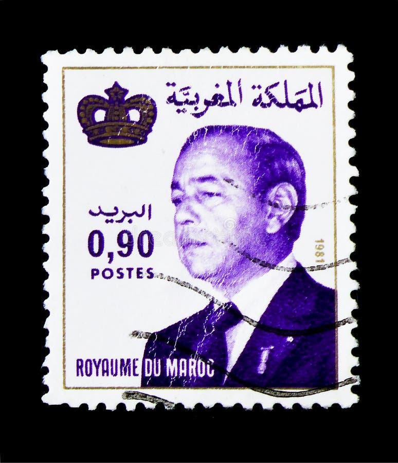 Rey Hassan II, serie, circa 1998 fotografía de archivo libre de regalías