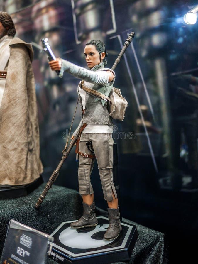 Rey i Ani-Com & lekar Hong Kong royaltyfri bild