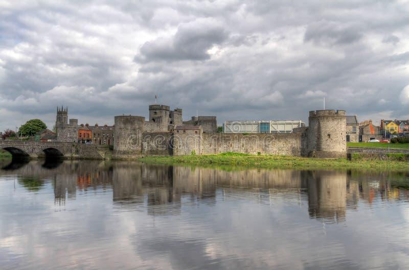 Rey Juan Castle en quintilla imagen de archivo libre de regalías