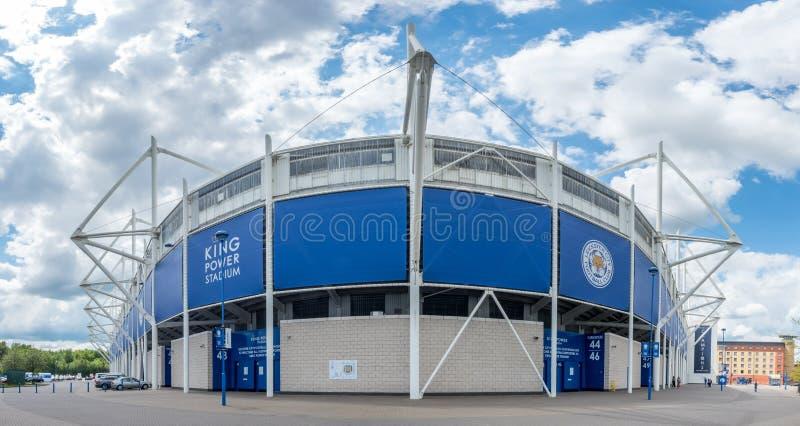 Rey Power Stadium en la ciudad de Leicester, Inglaterra foto de archivo