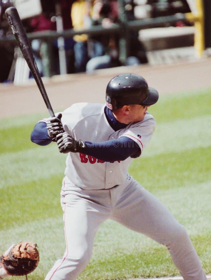 Rey Sanchez, Boston Rode Sox royalty-vrije stock afbeelding