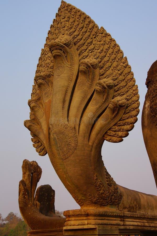 Rey Vasuk de la cobra de la serpiente del Naga imagen de archivo