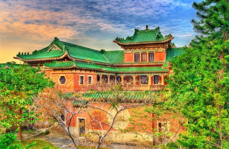 Rey Yin Lei Palace en el distrito de los Mediados de-niveles de Hong Kong imagen de archivo libre de regalías