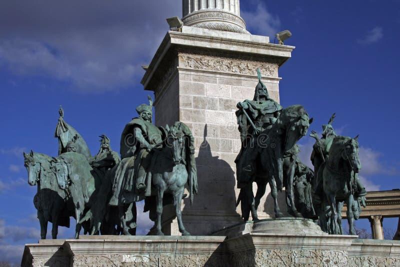 Reyes de Hungría fotografía de archivo libre de regalías
