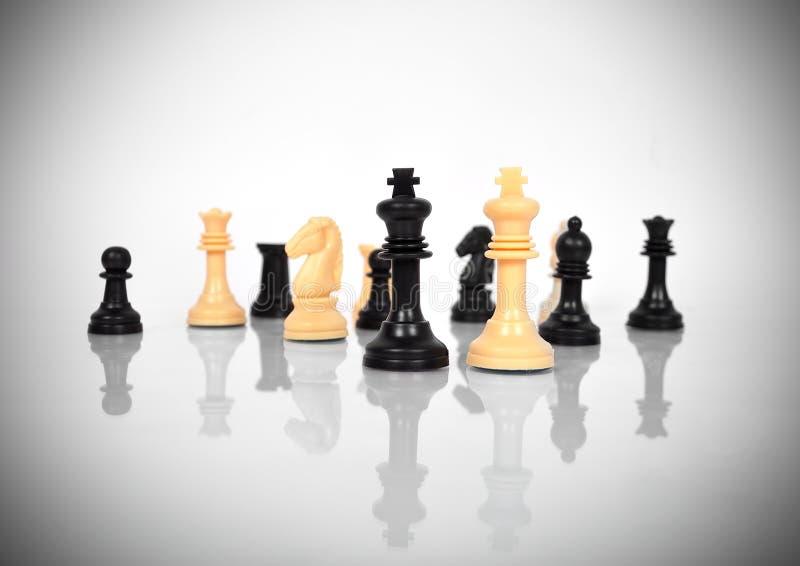 Reyes del ajedrez imágenes de archivo libres de regalías