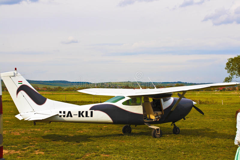 Reyes Land Airfield imagenes de archivo