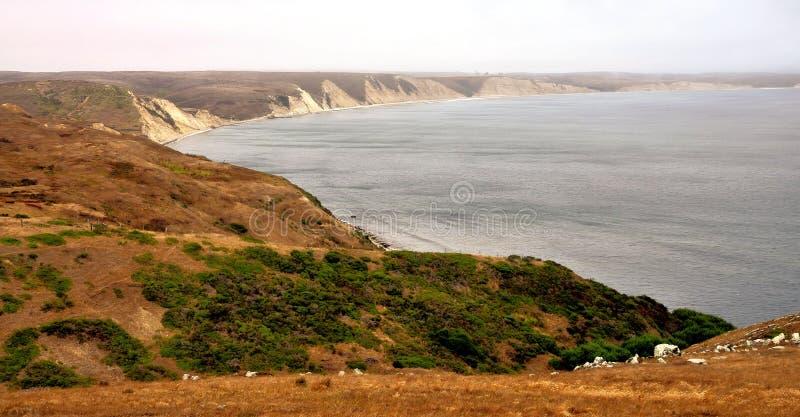 Reyes National Seashore. Views from the Reyes National Seashore north of San Francisco, California royalty free stock image