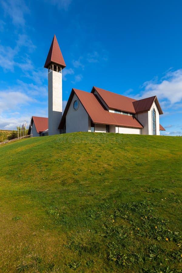 Reykholtkerk royalty-vrije stock foto's
