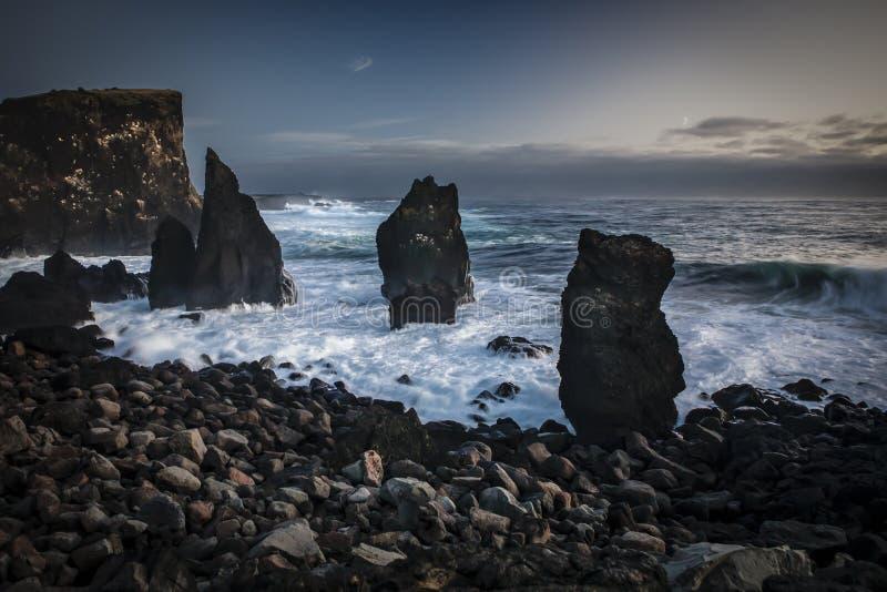 Reykjanes冰岛 库存图片