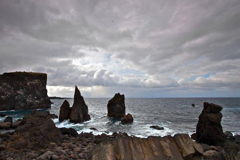 Reykjanes, IJsland stock foto's
