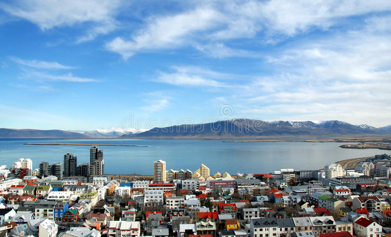 Reykjavik imagenes de archivo