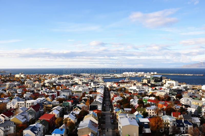 Reykjavik foto de stock