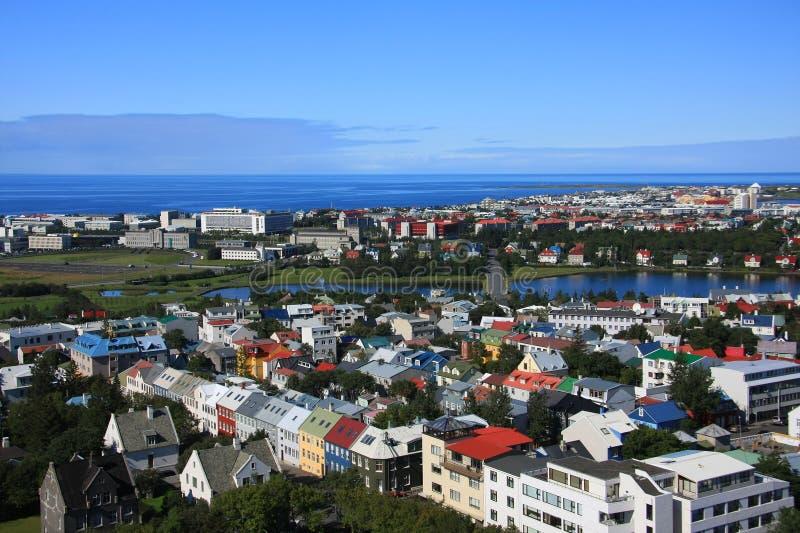 Reykjavik lizenzfreie stockfotos