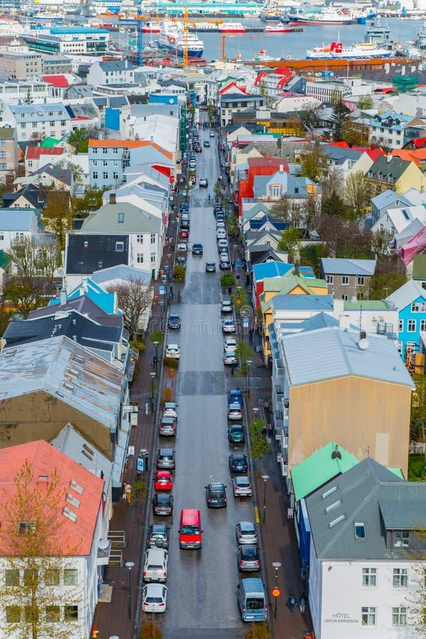 Download Reykjavik redaktionelles foto. Bild von aufbau, ozean - 96932601