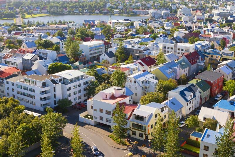 Reykjavik, the capital city of Iceland royalty free stock image