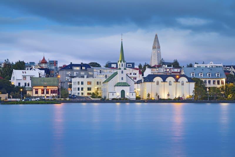 Reykjavik, IJsland royalty-vrije stock afbeelding