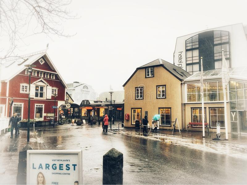 Reykjavik, Isl?ndia fotografia de stock royalty free