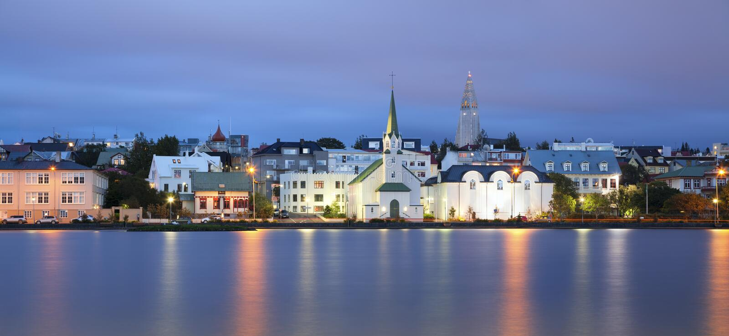 Reykjavik, Islanda. fotografie stock