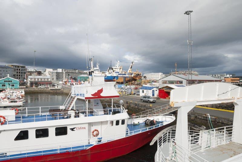 Reykjavik, Islanda fotografia stock libera da diritti