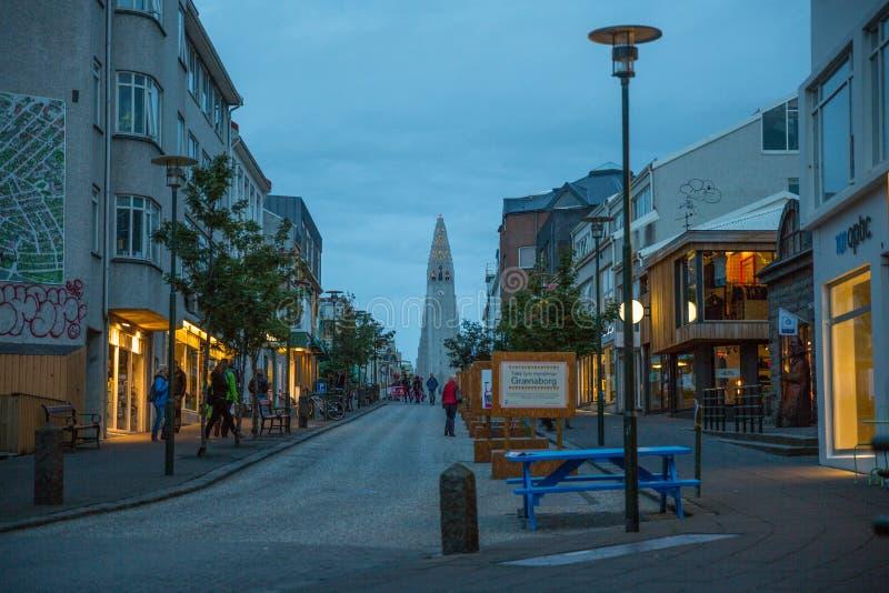 Download REYKJAVIK, ISLANDIA 4 DE AGOSTO: Calles 4, 2013 De La Ciudad En Reykjavik, Imagen de archivo editorial - Imagen de districto, puerto: 44852089