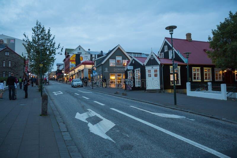 Download REYKJAVIK, ISLANDIA 4 DE AGOSTO: Calles 4, 2013 De La Ciudad En Reykjavik, Imagen de archivo editorial - Imagen de configuración, vida: 44852109