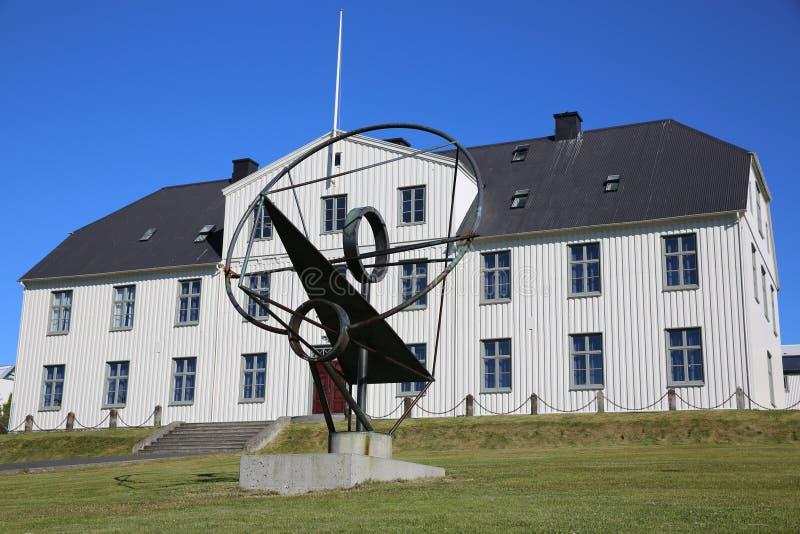Reykjavik Junior College royaltyfri bild