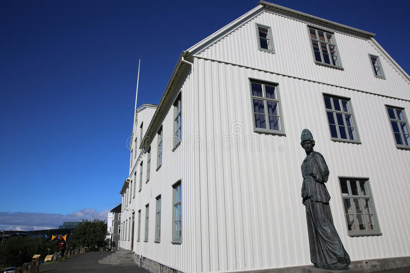 Reykjavik Junior College arkivfoton