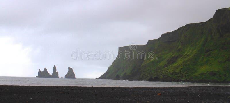 Reynisfjara beach near Vik, Iceland stock photography