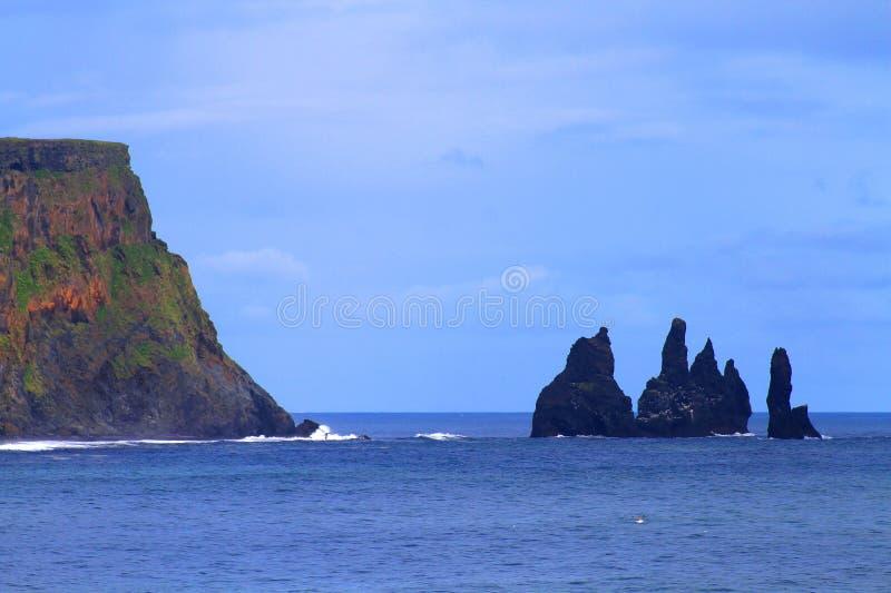 Reynisfjara beach near Vik, Iceland royalty free stock images