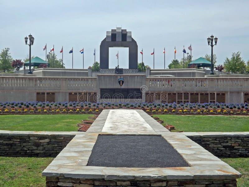 Reynolds Garden, memorial nacional do dia D, Bedford, VA, EUA foto de stock
